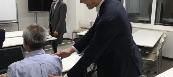 健康企業を応援する! 大阪高槻市電気メーカーさん企業研修