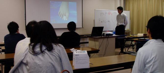 東京渋谷トレーナー協会の勉強で講師